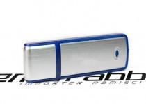 ds-0010 prostokatny pendrive plastikowo metalowy