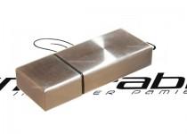 ds-0208 szeroki pendrive metalowy z zatyczką