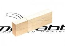 ds-0403 wąskie usb drewniane pendrive