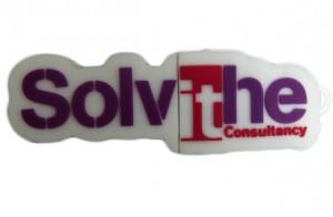 pendrive w ksztalcie logo firmy