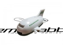 ds-0066 plastikowe usb w kształcie samolotu