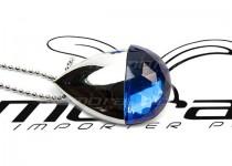 ds-0225 kobiecy pendrive usb wielki kryształ srebrny błyszczący