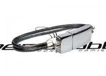 ds-0614 metalowa opaska z rzemykiem usb pendrive