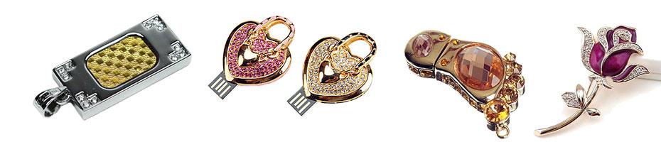 usb biżuteria pendrive