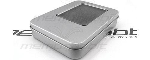 opakowanie metalowe z okienkiem pendrive usb
