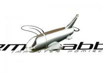 ds-0249 metalowy samolot usb pendrive