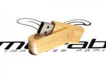 ds-0423 drewniany twister usb pendrive