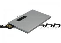 ds-1407 metalowa karta kredytowa usb ze sliderem pendrive